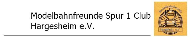 Modellbahnfreunde Spur 1 Hargesheim e.V.